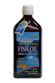 The finest fish oil from deep, cold ocean-water fish. Bottled in Norway to ensure maximum freshness. Refreshing natural lemon taste. Take by the teaspoonful, mix with foods, and try it on salads!.