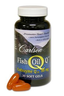 Fish Oil Q combines CoQ10, L-Carnitine and Norwegian fish oils to support a healthy heart..
