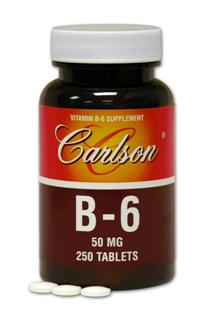 Vitamin B-6 50mg(250 tablets).