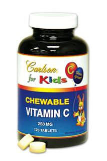 Carlson for Kids Chewable Vitamin C contains Calcium Ascorbate, providing Vitamin C in a tasty, non-acidic, buffered form..