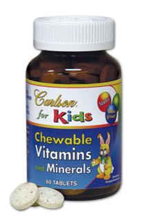 Carlson for Kids Chewable Vitamins (60 tabs).