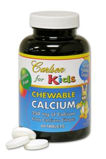 Chewable Calcium is a tasty vanilla tablet providing 250 mg of calcium. Casein and milk free..