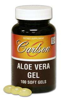 Each Aloe Vera Gel soft gel contains 25 mg of Aloe Vera concentrate (200:1) supplying the equivalent of 5000 mg (1 teaspoonful) aloe vera gel..