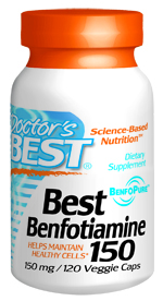 Benfotiamine is a synthetic derivative of thiamine (vitamin B-1) that is showing promise in treating a number of neurological and vascular conditions. Benfotiamine also appears to have beneficial anti-aging qualities, protecting human cells from harmful metabolic end products..