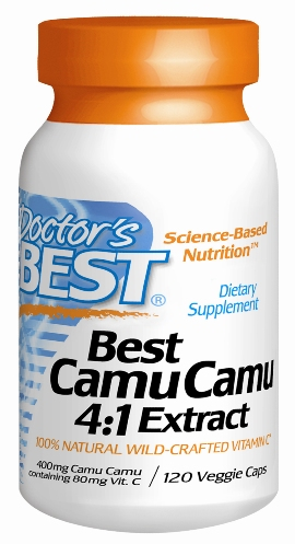 Best Camu Camu 4:1 Extract powder is an an exclusive wild-crafted, spray-dried concentrate of camu camu fruit..