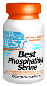 Best Phosphatidylserine may enhance healthy memory and thinking ability by facilitating neuronal communication.* Best Phosphatidylserine contains phosphatidylserine and other essential nutritional cofactors in a liquid softgel, providing added stability to these key phospholipid molecules..