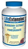Blueberry Extract with Pomegranate (60 vegetarian capsules)*.