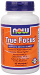 NOW True Focus combines important nutrients to maximize mental agility without the stimulating side effects of caffeine or ephedra. Direct Membership - Discount Prices- from www.SeacoastVitamins.com.