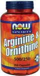 Arginine and Ornithine combines two essential amino acids into one optimal supplement. Arginine is necessary for urea metabolism, a process that prepares toxic ammonia for safe excretion by the kidneys. ; Ornithine is synthesized from Arginine and is a precursor of citruline, proline and glutamic acid.* ; Both of these amino acids are popular with athletes and other active individuals.  ;  Product FAQ's.