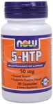 Neurotransmitter Support  Natural Source  Supports Positive Mood* 5-HTP, the intermediate metabolite between the amino acid L-tryptophan and serotonin, is extracted from the bean of an African plant (Griffonia simplicifolia).  ;  Product FAQ's   ; Related Products  ; 5-HTP and Its Relationship to Seratonin.
