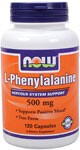 Nervous System Support  Supports Positive Mood*  Free-Form L-Phenylalanine is an essential amino acid that can be readily converted into the amino acid tyrosine. ; Because tyrosine is necessary for the synthesis of proteins and the production of the neurotransmitters dopamine and norepinephrine, phenylalanine is an extremely important nutrient that must be obtained through the diet or supplementation.*  ; Related Products.