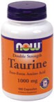 Double Strength  Nervous System Health  Supports A Calm Mood* Taurine is a conditionally essential amino acid which is not utilized in protein synthesis, but is mainly found free in most tissues, especially throughout the nervous system.  Taurine has been found to be important in the formation of bile salts, cell membrane stabilization, and eye health.  Taurine is well known for its role in the modulation of neurotransmitter activity and its relaxing effect on the mood.*    Product FAQ's .