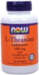 L-Theanine is an amino acid naturally found in green tea. L-Theanine promotes relaxation without the drowsiness ornegative side effects associated with other calming agents.  Promotes Relaxation, Supports Cardiovascular Function,  Vegetarian Formula..