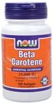 Beta Carotene is converted into Vitamin A in the body. Beta Carotene and Vitamin A are essential for the maintenance of healthy epithelial tissue, which is found in the eyes, skin, respiratory system, GI and urinary tracts.*.