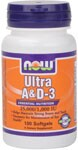 Ultra A & D3  Essential Nutrition  25,000/1,000 IU  Helps Maintain Strong Bones and Teeth  Necessary for Maintenance of Eye Health Vitamin A is essential for the maintenance of healthy epithelial tissue, which is found in the eyes, skin, respiratory system, GI and urinary tracts. Vitamin D promotes calcium absorption and calcium transport to bones..