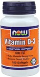Structural Support  Helps Maintain Strong Bones  Supports Dental Health* NOW Vitamin D softgels supply this key vitamin in a highly-absorbable liquid softgel form.  Vitamin D is normally obtained from the diet or produced by the skin from the ultraviolet energy of the sun.  However, it is not abundant in food.  As more people avoid sun exposure, Vitamin D supplementation becomes even more necessary to ensure that your body receives an adequate supply..