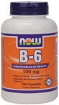 Vitamin B-6 is one of the more popular members of the B-vitamin family and is found in freshvegetables. Clinical studies have shown that B-6 plays an important role in regulating homocysteine levels in the body. Homocysteine is produced as a by-product of the demethylation of methionine and can be toxicin elevated amounts.* Our Vitamin B-6 is screened for potency and purity. From the FDA's website: 'As part of a well-balanced diet that is low in saturated fat and cholesterol, Vitamin B6 may reduce the risk of vascular disease. FDA evaluated the above claim and found that, while it is known that diets low in saturated fat and cholesterol reduce the risk of heart disease and other vascular diseases, the evidence in support of the above claim is inconclusive.'  Read FAQ's.
