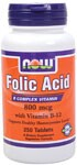 "An estimated 20% of the US population suffers from some form of folic acid deficiency.  And as one of the most difficult water-soluble vitamins to absorb, quality plays an integral role when choosing this essential B vitamin.  NOWs Folic Acid 800 mcg is a state of the art blend that includes 25 mcg of Vitamin B-12 for synergistic effect and quick absorption.  When used in combination with vitamin B-12, folic acid may help facilitate the production of cellular energy.* From the FDA's website: ""0.8 mg folic acid in a dietary supplement is more effective in reducing the risk of neural tube defects than a lower amount in foods in common form. FDA does not endorse this claim. Public health authorities recommend that women consume 0.4 mg folic acid daily from fortified foods or dietary supplements or both to reduce the risk of neural tube defects."" As part of a well-balanced diet that is low in saturated fat and cholesterol, Folic Acid, Vitamin B6 and Vitamin B12 may reduce the risk of vascular disease. FDA evaluated the above claim and found that, while it is known that diets low in saturated fat and cholesterol reduce the risk of heart disease and other vascular diseases, the evidence in support of the above claim is inconclusive.."