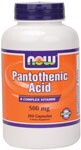 Pantothenic Acid is an essential member of the B-complex vitamins. .