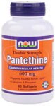 Pantethine is a highly absorbable and biologically active form of pantothenic acid (Vitamin B-5).  Pantethine is also important for healthy cardiovascular function through its antioxidant activity..