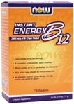 NOW Vitamin B-12 Instant Energy is the perfect way to keep alert and energized, regardless of the situation. This perfectly balanced formula contains synergistic nutrients such as Chromium, Creatine and six other B-vitamins. NOW B-12 Instant Energy can give you the spark you need, no matter where life takes you..
