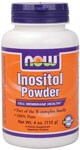 100% Pure Inositol is a nutrient that's considered a member of the B-vitamin family. It is found in cell membrane structures and is important for metabolism of fat and cholesterol, including removal of fat from the liver..