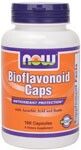 Our Citrus Bioflavonoid Caps contain 40% total bioflavonoids. There are many varieties of bioflavonoids available and ours includes a number of flavonols, flavones, and flavanones including: Hesperidin, Eriocitrin, Naringen, Naringenin, and Quercitin..