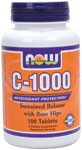 C-1000 provides a potent dosage of this key vitamin and is blended with Rose Hips, a natural source of Vitamin C and a synergist..