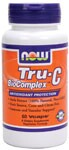 Vegetarian Formula NOW Tru-C BioComplex contains an extract of the Amla Berry (Phyllanthus emblica), one of the most frequently used Ayurvedic herbs. Amla is an exceptionally rich source of Vitamin C, Bioflavonoids, and Tannins. In addition, Tru-C BioComplex contains Rutin, Rose Hips, and Grape Seed Extract as synergists. This 100% vegetarian, non-synthetic source of Vitamin C is citrus- and corn-free..
