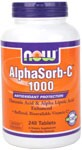 Vegetarian Formula NOW AlphaSorb-C contains the Vitamin C metabolite, Threonic Acid, which has been shown to enhance cellular uptake of Vitamin C. This buffered, non-acidic Vitamin C supplement also contains Alpha Lipoic Acid, an antioxidant known to help regenerate Vitamin C in the body. Vitamin C is best known as a highly effective antioxidant that can protect the body's cells and molecules from damage by free radicals.* .