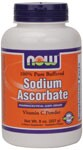 Sodium Ascorbate is buffered (non-acidic) and will not contriubte to gastric irritation in acid-sensitive persons. Sodium Ascorbate is snythesized from a combination of Sodium Bicarbonate and Ascorbic Acid to form Sodium Ascorbate..