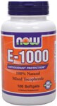 Antioxidant Protection*  100% Natural Mixed Tocopherols Vitamin E is a major antioxidant and the primary defense against lipid peroxidation. It is particularly important in protecting the body's cells from free radical/oxidative damage. These protective benefits are achievable with supplemental intakes higher than waht is normally consumed in the average diet..