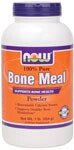 NOW Bone Meal Powder is a natural source of minerals derived from cattle raised in the United States. Our sterilized and sanitary NOW Bone Meal Powder is tested for heavy metals such as lead and aluminum to assure the lowest levels possible..