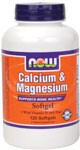 Supports Bone Health*  With Vitamin D and Zinc NOW Calcium & Magnesium Softgels include Vitamin D and Zinc and offer a truly balanced and synergistic blend of essential minerals.  This formula supports strong bones and teeth, healthy enzymatic activity, and provides antioxidant support.*  Delivered via softgel, this formula is more easily absorbed and assimilated than capsules or tablets..