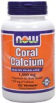 Healthy pH Balance  Important for Bone Health*  350 mg of Calcium NOW Coral Calcium contains an alkaline form of Calcium that can help to support a healthy serum pH. In addition,Coral Calcium contains a number of trace minerals that are important for bone health, as well as for optimal enzymatic activity.* NOW Coral Calcium is not harvested from living coral reefs or even from the ocean environment, but from above-ground sources in Okinawa in anecologicallyfriendly manner..