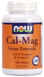 Calcium & Magnesium are essential minerals that work synergistically with one another to promote enhanced absorption. Calcium is necessary for strong bones and teeth, and Magnesium is important for healthy enzymatic activity.* In addition, NOW Cal-Mag Stress Formula provides a full spectrum of B-vitamins and Vitamin C..