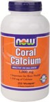 Healthy pH Balance  Important for Bone Health*  350 mg of Calcium  NOW Coral Calciumcontains an alkaline form of Calcium that can help to support a healthy serum pH. In addition, Coral Calcium contains a number of trace minerals that are important for bone health, as well as for optimal enzymatic activity.* NOW Coral Calcium is not harvested from living coral reefs or even from the ocean environment, but from above-ground sources in Okinawa in an ecologically friendly manner..