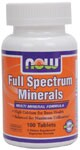 Multi Mineral Formula  High Calcium for Bone Health  Balanced for Maximum Utilization*  Vegetarian Formula  Improved Formula! Minerals are of cornerstone importance to human function, and work synergistically with the vitamins in our body to normalize metabolism, growth, development and cellular activity. Deficiency of only milligrams in just one mineral can often lead to serious health problems. As a chief component in both enzyme and coenzyme function, the minerals in our body play a key role in speeding up the chemical reactions that take place in our body. NOW Full Spectrum delivers the perfect high potency blend of these essential minerals, in addition to vitamin D.*.