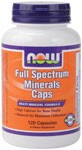 NOW Full Spectrum Mineral caps is a comprehensive combination of the most important dietary minerals used by your body.  This formula contains recommended potencies of essential minerals such as Calcium for strong bones and teeth and Zinc for immune system support.*  Plus, Full Spectrum Mineral caps is an iron-free supplement and contains a 1:1 ratio of Calcium to Magnesium..
