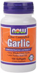 Garlic  with Parsley Seed Oil NOW Odor Controlled Garlic is a specially made Japanese product which has been concentrated to active sulfur compounds, including Allicin, that may be responsible for many of garlic's renowned effects..
