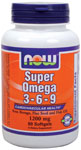 Super Omega 3-6-9 is a blend of Fish, Borage and Organic Flax Seed Oils.  This combination of well-known nutritional oils provides a unique balance of Omega-3 and Omega-6 Essential Fatty Acids plus Omega-9, a non-essential, but beneficial fatty acid..