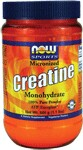 Micronized  100% Pure Powder  ATP Energizer*  Vegetarian Product  NOW MicronizedCreatine Mononhydrate Powder has many advantages over regular creatine monohydrate powder. The smaller particle size means more surface area, allowing for better mixing and faster absorption in the body.  Creatine Monohydrate is a naturally occurring compound found in the human body and obtained in the diet primarily from meat and fish. Creatine is a popular supplement among active individuals because of its ability to serve as an energy reservoir, especially during intense physical exertion. During short, intense bursts of activity, the body breaks down adenosine triphosphate (ATP) into adenosine diphosphate (ADP) and phosphate for energy. Creatine helps the body convert ADP back to ATP, providing greater amounts of ATP for energy, which may increase short-term endurance and strength. Creatine can also be stored for later use by cells creating the 'energy reservoir' active individuals desire..