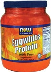 Eggwhite Protein from NOW is an excellent natural source of high quality protein. Good quality proteins contain virtually no fat or carbohydrates and rate well on the PDCAAS (Protein Digestibility Corrected Amino Acid Score), the newest and most accurate measurement of a protein's quality. NOW Eggwhite Protein contains <1 g of fat and carbohydrates per serving and rates as one of the highest quality proteins available when using the PDCAAS. A good mix of proteins from different sources provides the best results, and an excellent addition to any protein supplementation program..