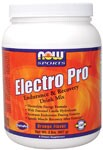 NOW ElectroPro Energy Drink contains all of the elements necessary for post-exercise recovery. ElectroPro combines a special mix of simple and complex carbohydrates, protein, and electrolytes to promote rapid recovery from hard exercise..