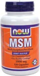 MSM (Methylsulphonylmethane) is a natural form of organic sulfur found in all living organisms.  This natural compound, researched since 1979, provides the chemical links needed to form and maintain numerous different types of tissues found in the human body, including connective tissue such as articular cartilage.  While MSM is a natural component of almost all fresh fruits, vegetables, seafood and meat, food -processing methods reduce sulfur levels, making supplementation more important than ever.  NOW MSM is tested to meet a minimum 99.7% purity level.Product FAQ's   Related Products    .