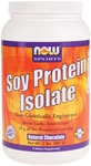 NOW Soy Protein is a good vegetable source of high quality complete protein that contains an excellent amino acid profile. Soy products, including Soy Protein, are high in phytoestrogens, which may positively support natural estrogen levels in women. Soy Protein also provides beneficial proteins such as Genistein and Daidzein, which have been shown to support good health through various biochemical processes. Make sure you're getting the basic building blocks of good health with high quality Soy Protein from NOW.* .