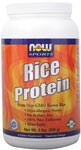 NOW Pure Rice Protein Powder is hypo-allergenic, making it ideal for those who live with allergies and sensitivities to wheat, egg, milk, soy and other common protein constituents..