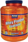 100% Pure  Mixes Instantly  Microfiltered  High in Branch Chain Amino Acids  Natural Unflavored  All Natural - No Aspartame, No Sucralose, No Acesulfame-K NOW Whey Protein Isolate is a high quality protein supplement that is both bioavailable and easily digested.  Whey protein contains a high concentration of Branched Chain Amino Acids (BCAA's), which are important for efficient muscle metabolism.*  These qualities make NOW Whey Protein Isolate an ideal supplement for active individuals.   Whey protein is considered to have the highest Biological Value of any protein source - superior in essential amino acid content to beef, milk, casein or soy.   Since 1968, NOW has earned a valued reputation for producing quality products at reasonable prices.  Our Quality Assurance and Quality Control teams of certified nutritionists, chemists and technicians thoroughly evaluate all products, processes, packaging and sources.  Our responsiblity and pledge is to honestly and accurately label quality products that are fresh, potent and effective.   Other delicious flavors available: Vanilla & Chocolate     Voted 2005 Whole Foods Magazine Best Sports Supplement       Read FAQ's   Read more about Sports Nutrition from Your Health Professor   Related Products   .