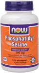 NOW Phosphatidyl Serine is a phospholipid compound derived from soy lecithin that plays an essential role in cognitive health,  supports memory & brain function, and helps promote intercellular communication. .