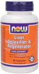 NOW Foods Liver Detoxifier and Regenerator is a proprietary blend of herbs and nutrients designed to support healthy liver function..